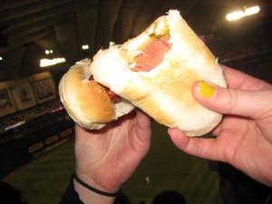 Half-a-hotdog