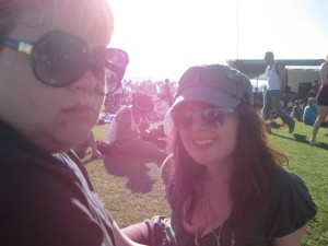 Mary Ellyn and Hz at Coachella. Keep movin', folks. No htdgs to see here!