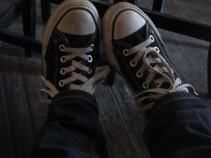 Hz bored feet.
